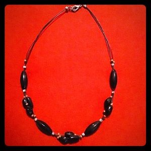 🌸 $9 or 2/$15 🌸 Beautiful Black Necklace